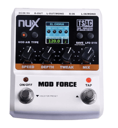 Pedal Nux - Mod Force - Multi Modulation Effects - PD0737