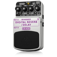Pedal Behringer DR400  Digital Reverb/Delay - PD0326