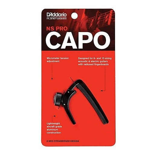 Capo NS Pro Preto Planet Waves PW-CP-02 - AC0146 - comprar online