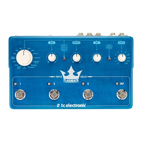 Pedal TC Electronic Flashback Triple Delay - PD0994