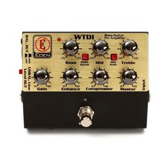 Pedal Eden WTDI Compressor, EQ, Direct Box/Preamp - PD0961