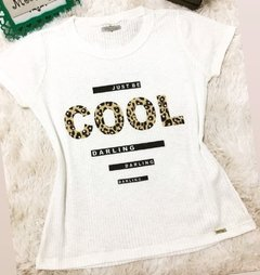 T-shirt gola careca COOL