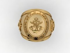 Gold Marine Corps Ring - buy online