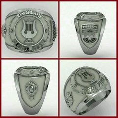 Music Ring of the School of Silver Logistics sergeants