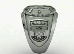 Belico Material Ring of the School of Silver Logistics sergeants on internet