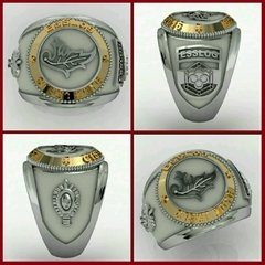 Ring Intendence of the School of Silver Logistics sergeants with details in gold