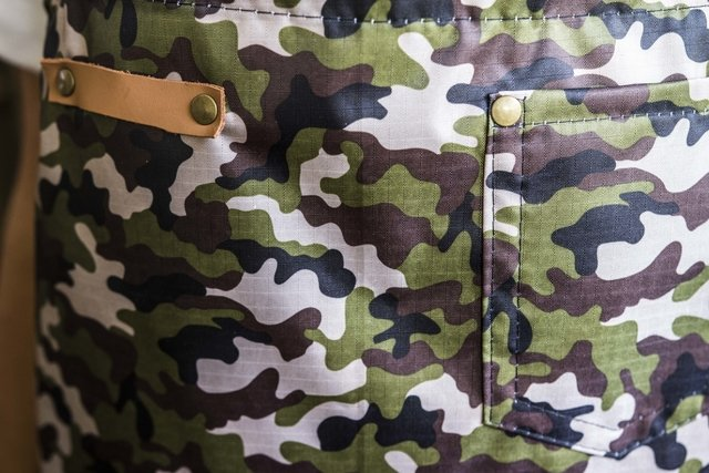 Worker impermeable camuflado