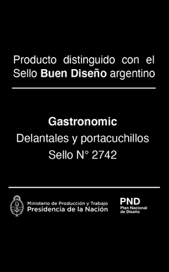 Delantal Worker Oficios - Gastronomic
