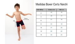 BOXER CORTO MATIAS - COLLECTION NARCHI - comprar online