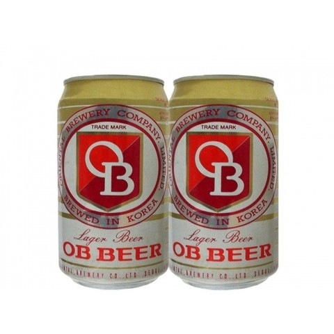 LATA OB BEER LAGER 355 ML ALUMÍNIO KOREA SOUTH - comprar online