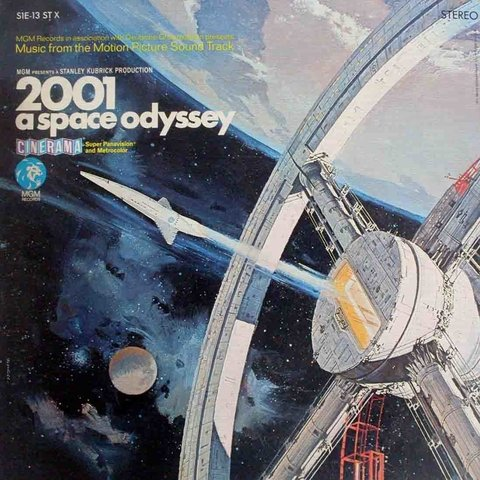 LONG PLAY TEMA DE FILME ORIGINAL 2001 A SPACE ODYSSEY 1970 GRAV MGM RECORDS USA
