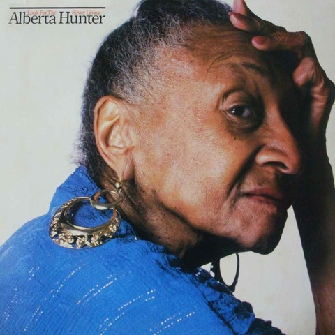 LONG PLAY ALBERTA HUNTER LOOK FOR THE SILVER LINING 1983 GRAV CBS RECORDS