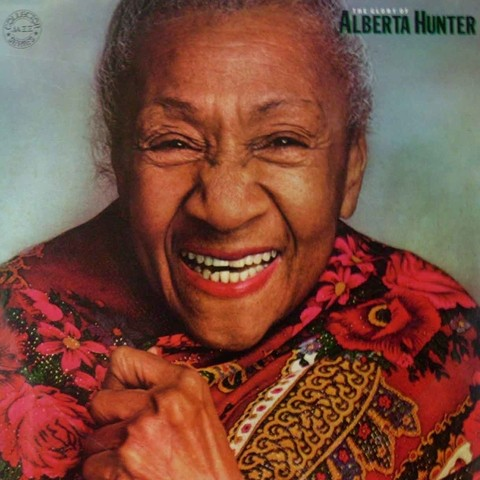 LONG PLAY ALBERTA HUNTER THE GLORY OF 1982 GRAV CBS RECORDS