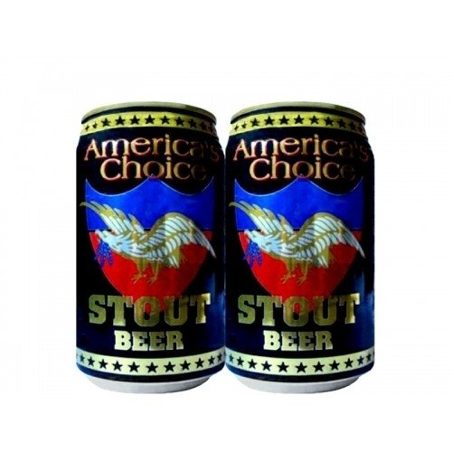 LATA AMERICA´S CHOICE STOUT BEER 355 ML ALUMINIO USA - comprar online