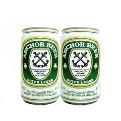 LATA VAZIA ANCHOR BEER DUTCH LAGER 330 ML ALUMINIO HOLAND - comprar online