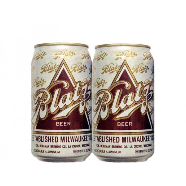 LATA BLATZ BEER 355 ML ALUMINIO USA