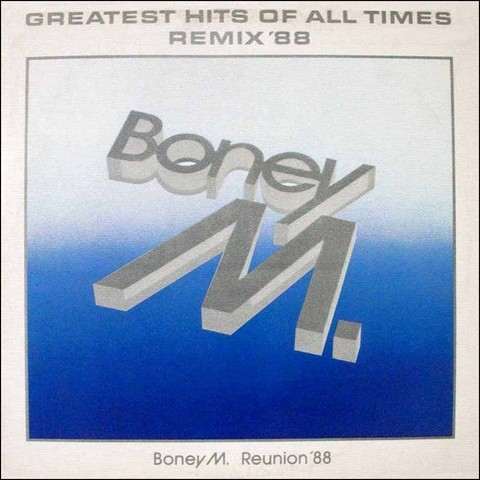 LONG PLAY BONEY M. GREATEST HITS REMIX 1988 GRAV HANSA BMG ARIOLA