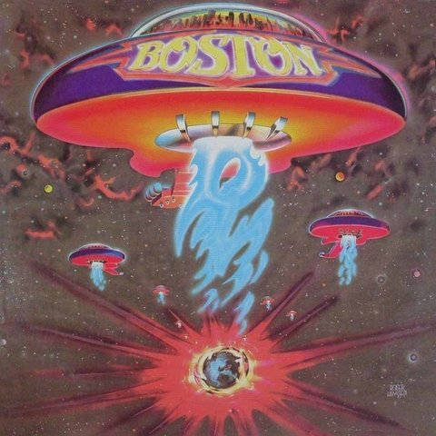 LONG PLAY BOSTON 1976 ORIGINAL IMPORTADO USA GRAV EPIC RECORDS