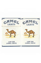 BOX VAZIO CAMEL LIGHTS LOW TAR TASTE R J REYNOLDS TOBACCO CO USA