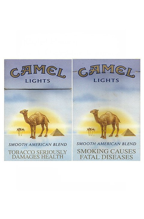 BOX CAMEL LIGHTS AMERICAN BLEND R J REYNOLDS TOBACCO CO USA