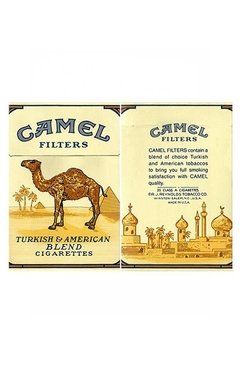 BOX VAZIO CAMEL BLEND FILTERS R J REYNOLDS TOBACCO CO USA - comprar online