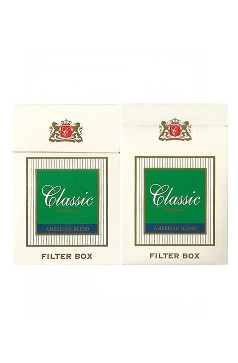 BOX CLASSIC MENTHOL AMERICAN BLEND IMPERIAL TABACOS PARAGUAY