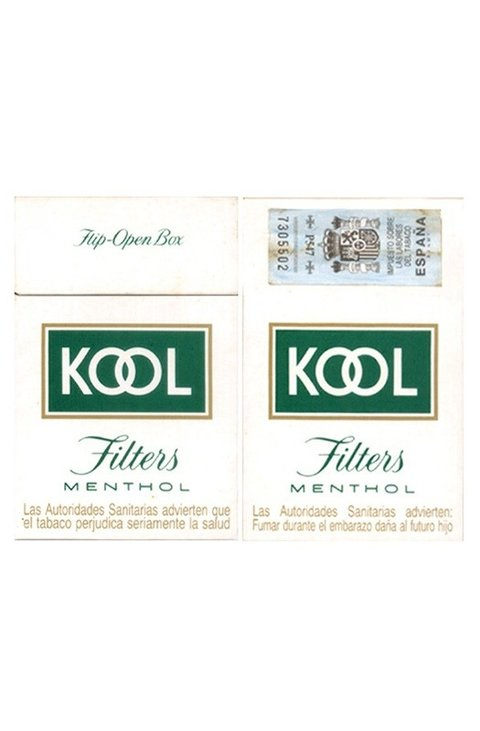BOX KOOL FILTERS MENTHOL BROWN & WILLIAMSON TOBACCO CO ESPAÑA