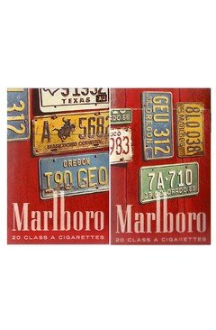 BOX VAZIO MARLBORO FILTER 20 CLASS PHILIP MORRIS MARKETING BRASIL
