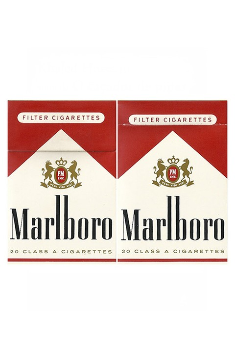 BOX MARLBORO FILTER CIGARETTES PHILIP MORRIS MARKETING BRASIL