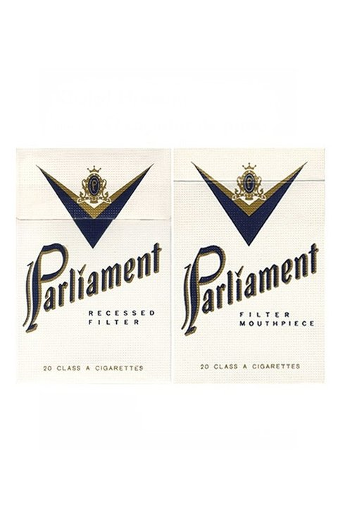 BOX PARLIAMENT RECESSED FILTER PHILIP MORRIS BRAZIL