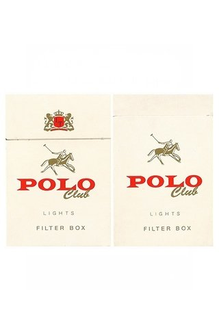 BOX POLO CLUB LIGHTS FILTER IMPERIAL TABACOS S/A PARAGUAY