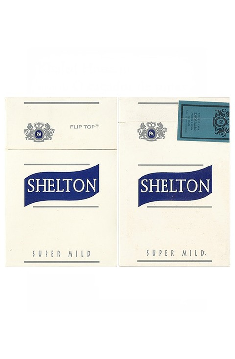 BOX SHELTON SUPER MILD PHILIP MORRIS MARKETING BRAZIL