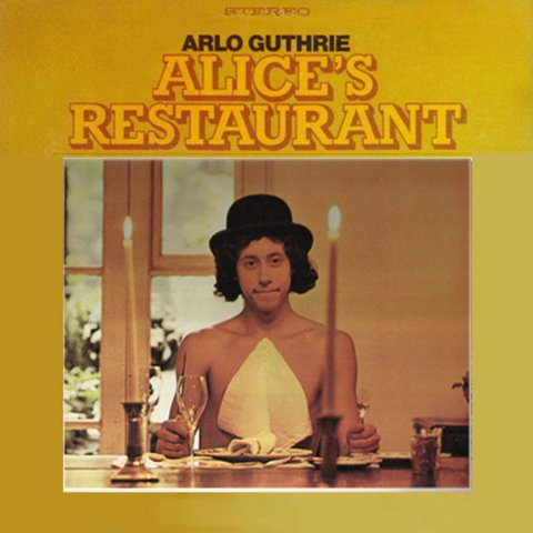 LONG PLAY ARLO GUTHRIE ALICE'S RESTAURANT 1980 GRAV REPRISE RECORDS