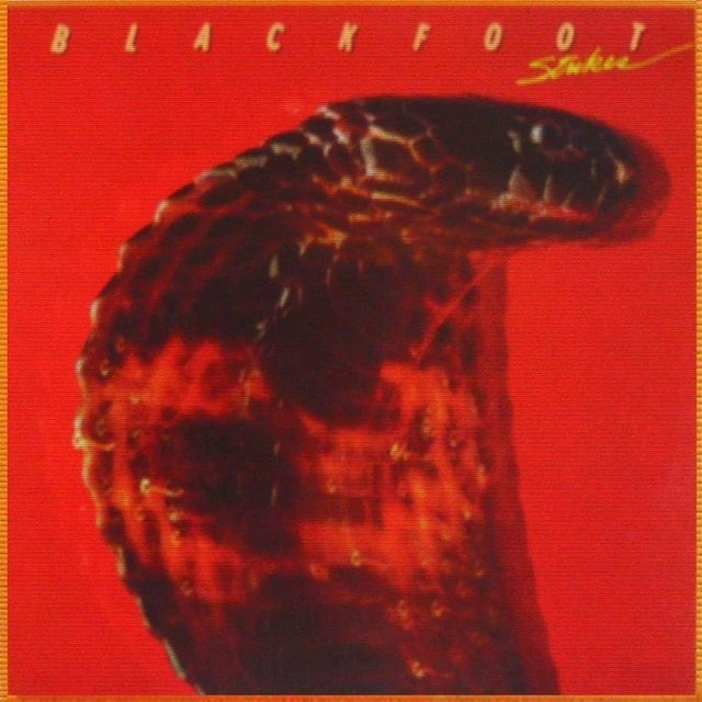 LONG PLAY BLACKFOOT STRIKES 1979 GRAV ATCO RECORDS