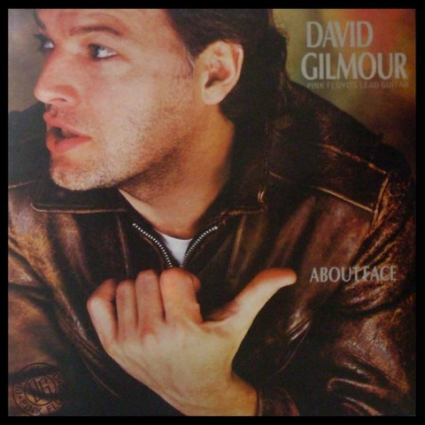 LONG PLAY DAVID GILMOUR ABOUT FACE 1984 ORIGINAL GRAV DISCOS CBS