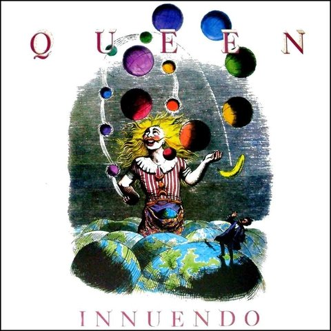 LONG PLAY QUEEN INNUENDO 1991 ORIGINAL GRAV EMI ODEON FONOGRÁFICA
