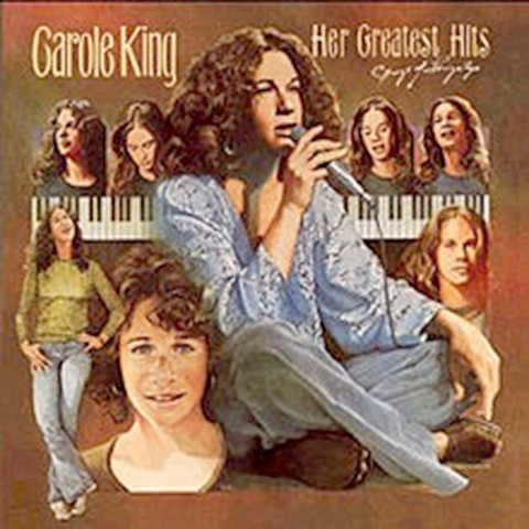 LONG PLAY CAROLE KING HER GREATEST HITS 1978 GRAV EPIC RECORDS