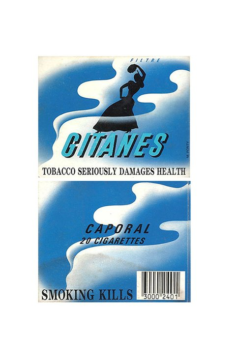 CARTEIRA GITANES FILTRE CIGARETTES SEITA BY FRANCE