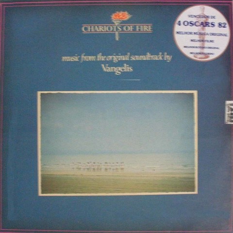 LONG PLAY TEMA DE FILME ORIGINAL CHARIOTS OF FIRE 1981 GRAV POLYDOR RECORDS