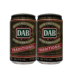 LATA DAB TRADITIONAL DARK BEER 330 ML ALUMINIO GERMANY - comprar online