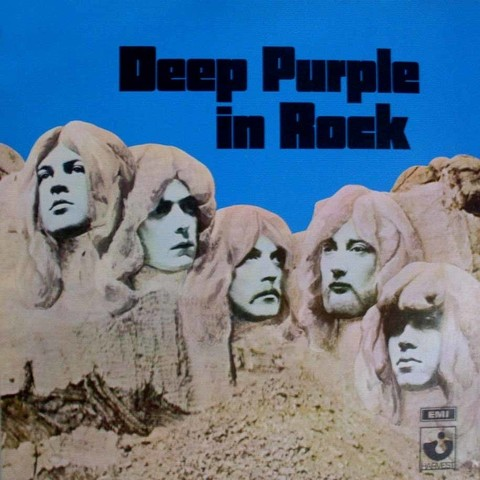 LONG PLAY DEEP PURPLE IN ROCK 1989 REEDIÇÃO GRAV EMI HARVEST RECORDS