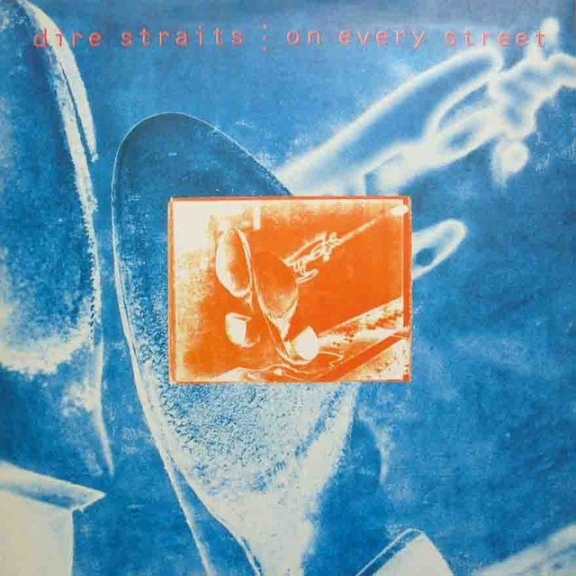 LONG PLAY DIRE STRAITS ON VERY STREET 1991 ORIGINAL GRAV POLYGRAM / VERTIGO RECORDS