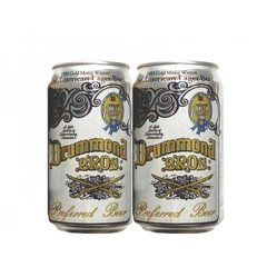 LATA VAZIA DRUMMOND BROS LAGER 355 ML ALUMINIO USA