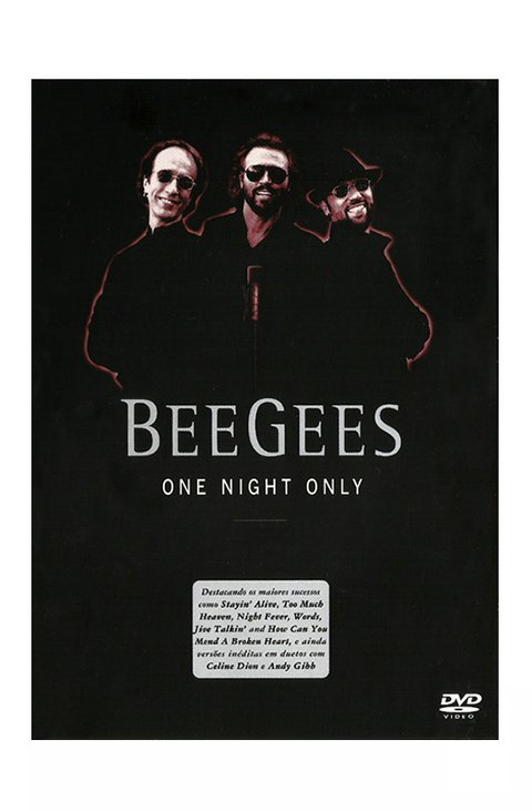 DVD BEE GEES ONE NIGHT ONLY 2001 ORIGINAL GRAV EAGLE ST2 VIDEO BRAZIL