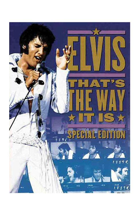 DVD ELVIS PRESLEY THAT'S THE WAY IT IS 2000 ORIGINAL GRAV WARNER VIDEO USA