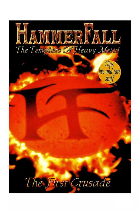 DVD HAMMERFALL THE FIRST CRUSADE 2000 ALTERNATIVO GRAV NUCLEAR BLAST
