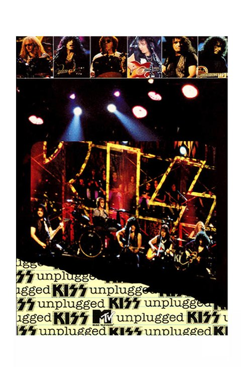 DVD KISS MTV UNPLUGGED 1996 ALTERNATIVO GRAV POLYGRAM VIDEO USA