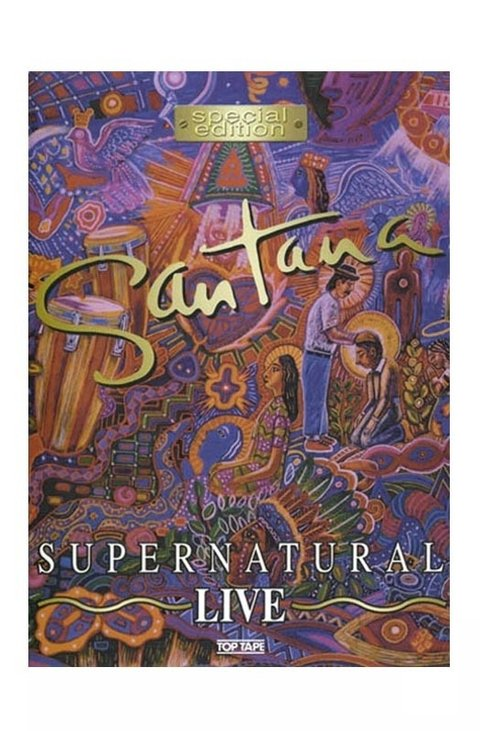 DVD SANTANA SUPERNATURAL LIVE 2000 ORIGINAL GRAV TOP TAPE VIDEO BRAZIL