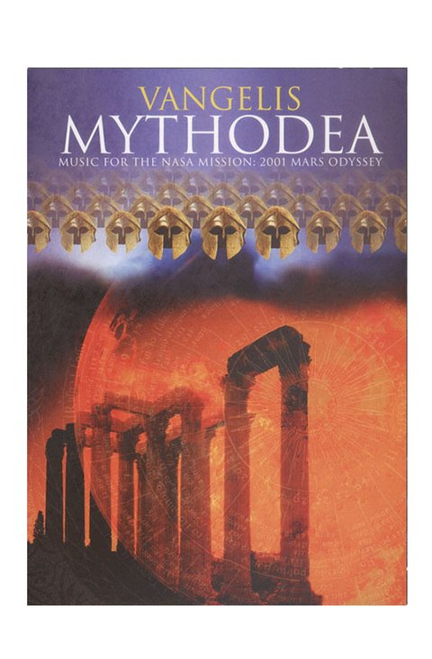 DVD VANGELIS MYTHODEA 2001 76 MIN NTSC ORIGINAL GRAV SONY CLASSICAL USA