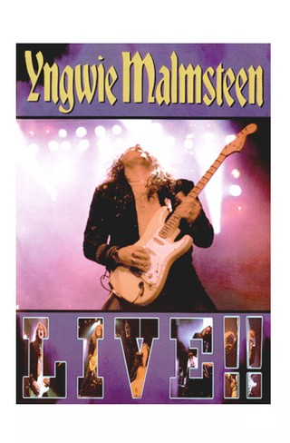 DVD YNGWIE MALMSTEEN LIVE! 2000 ORIGINAL GRAV DREAM CATCHER ENGLAND